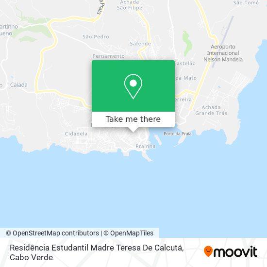 Residencia Estudantil Madre Teresa De Calcutá mapa