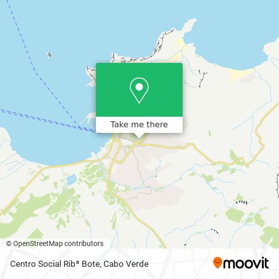 Centro Social Ribª Bote mapa