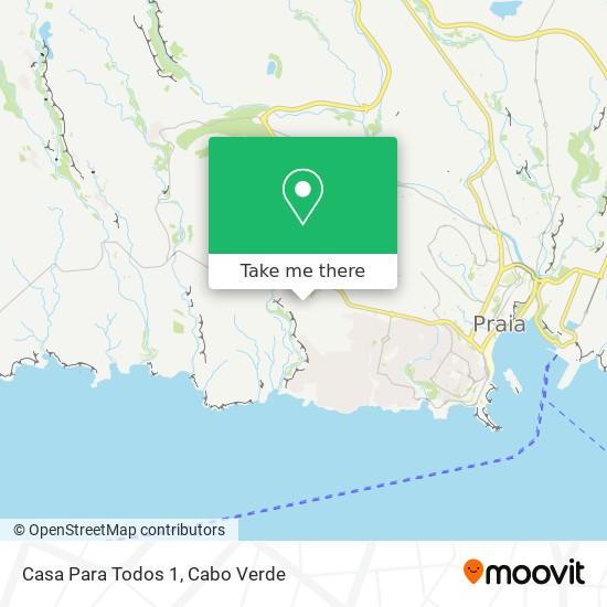Casa Para Todos 1 mapa