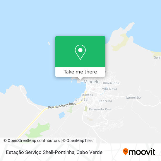 Estação Serviço Shell-Pontinha mapa