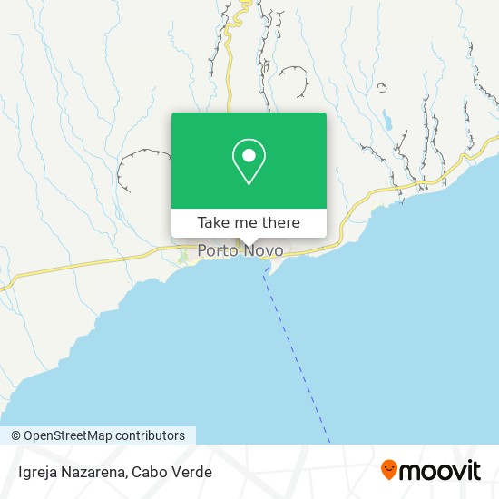 Igreja Nazarena mapa