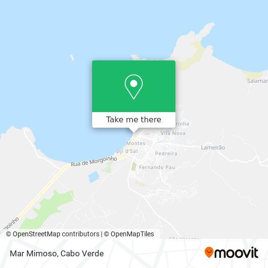 Mar Mimoso mapa