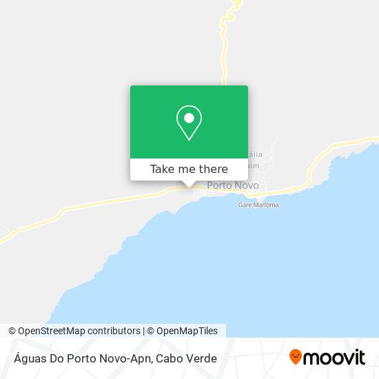 Águas Do Porto Novo-Apn mapa