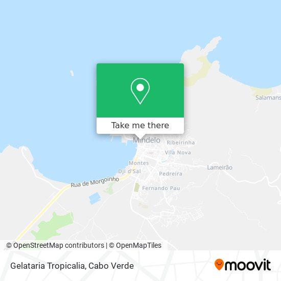 Gelataria Tropicalia mapa