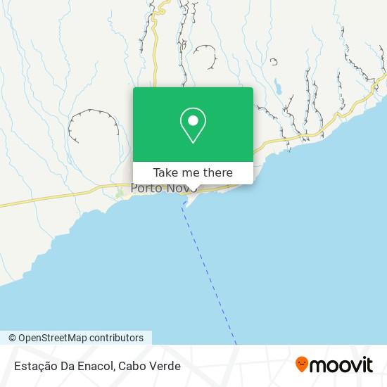 Estação Da Enacol mapa