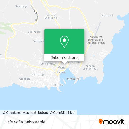 Cafe Sofia mapa