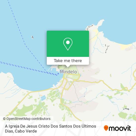 A Igreja De Jesus Cristo Dos Santos Dos Últimos Dias mapa