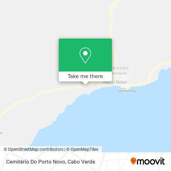 Cemitério Do Porto Novo mapa