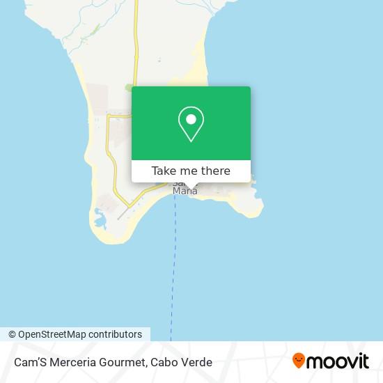 Cam'S Merceria Gourmet mapa