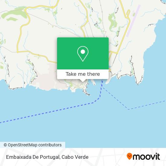 Embaixada De Portugal mapa
