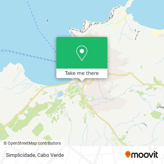 Simplicidade mapa