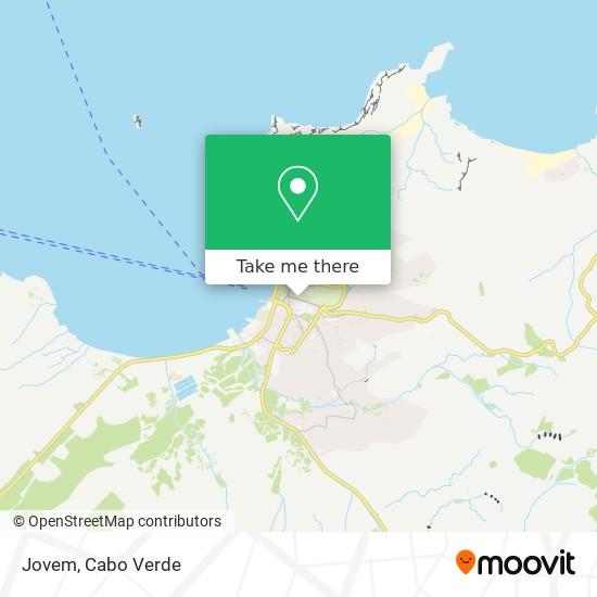 Jovem mapa