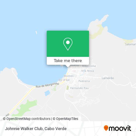 Johnnie Walker Club mapa