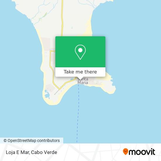 Loja E Mar mapa