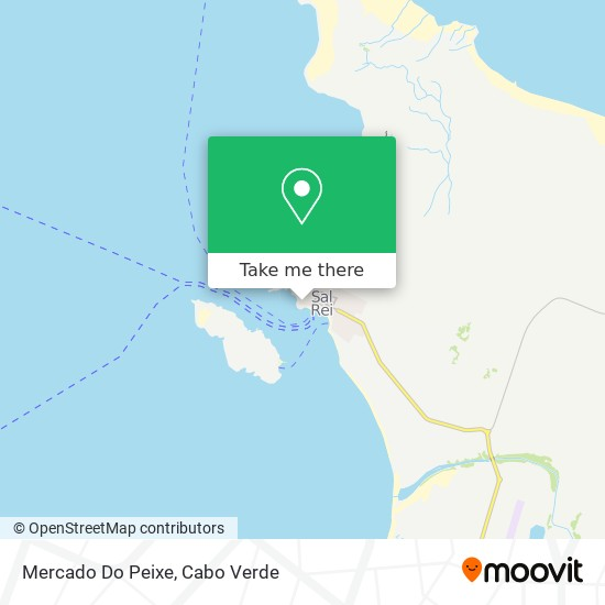 Mercado Do Peixe mapa