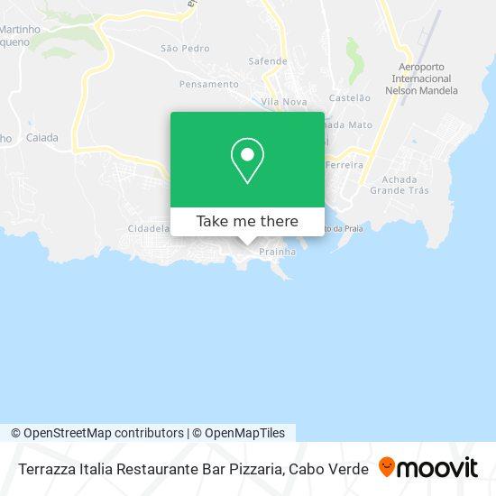 Restaurante E Pizzaria Terrazza Italia mapa