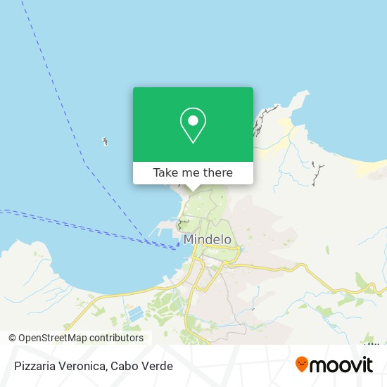 Pizzaria Veronica mapa