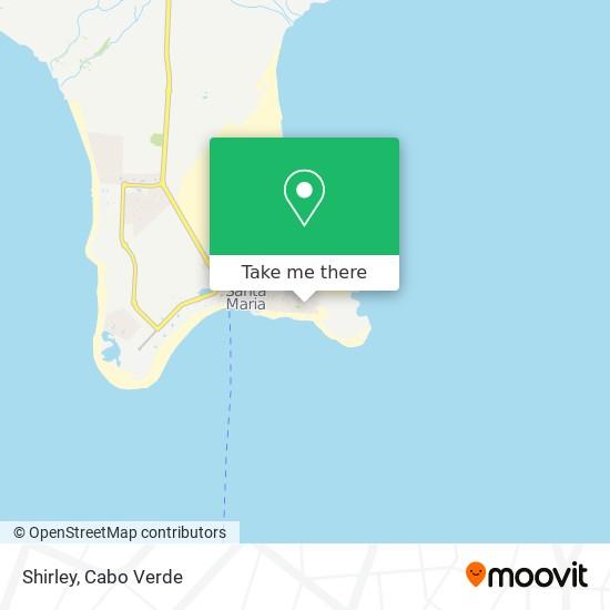 Shirley mapa