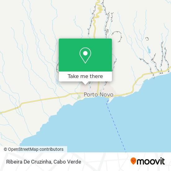 Ribeira De Cruzinha mapa