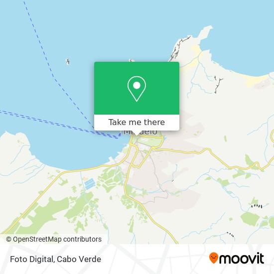 Foto Digital mapa