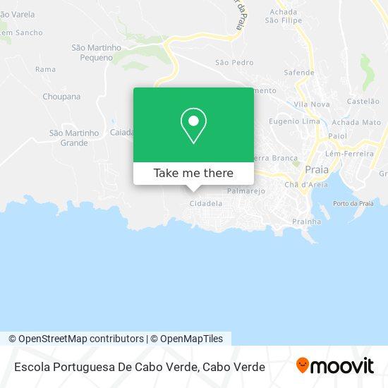 Escola Portuguesa De Cabo Verde mapa