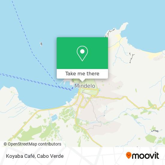 Koyaba Café mapa
