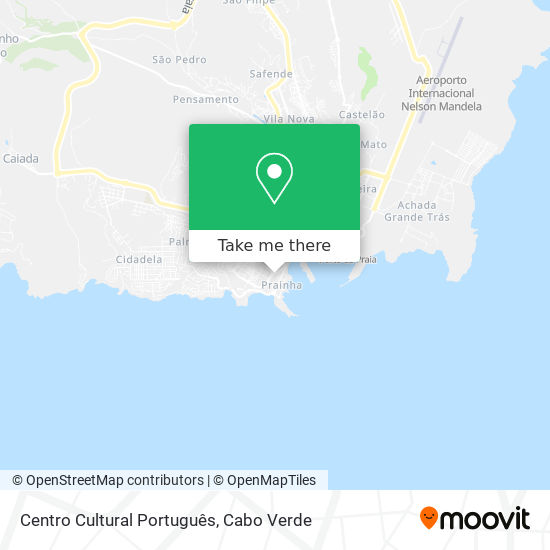 Centro Cultural Português mapa