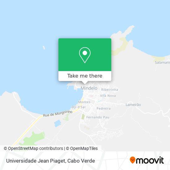 Universidade Jean Piaget mapa