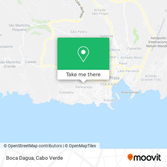 Boca Dagua mapa