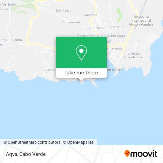 Aqva mapa