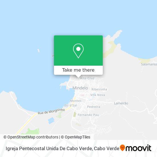 Igreja Pentecostal Unida De Cabo Verde mapa