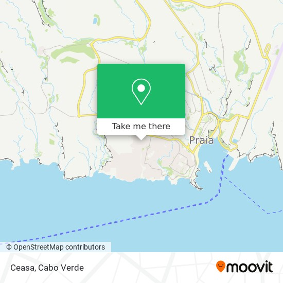 Ceasa mapa