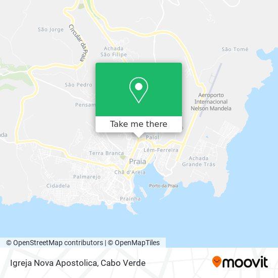 Igrena Nova Apostolica mapa