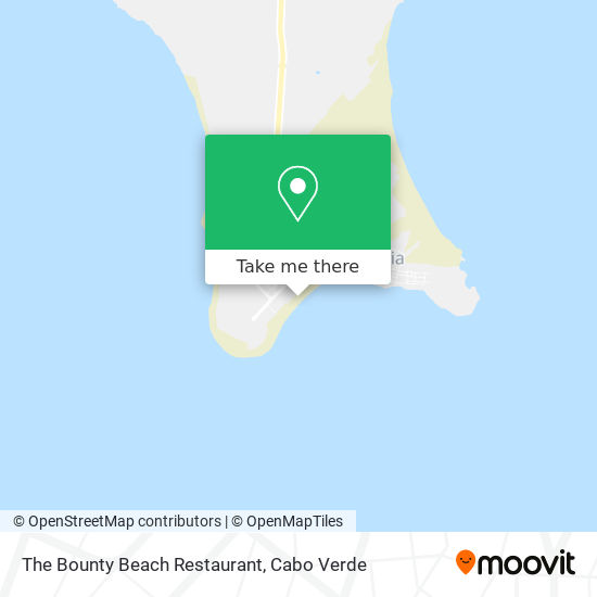 The Bounty Beach Restaurant mapa