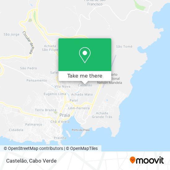 Castelão mapa