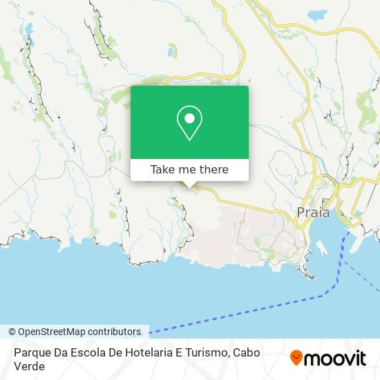 Parque Da Escola De Hotelaria E Turismo mapa