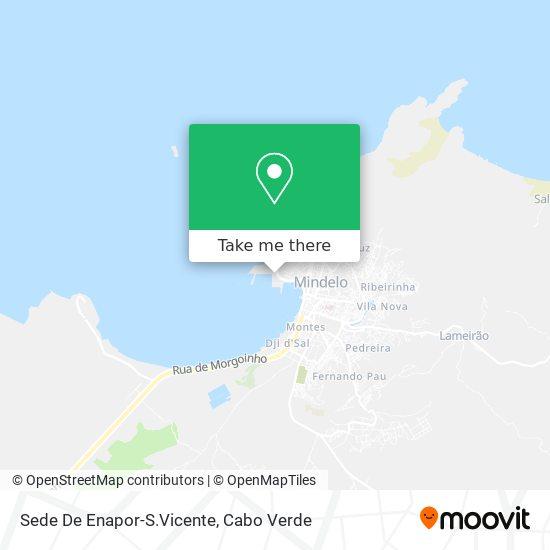 Sede De Enapor-S.Vicente mapa