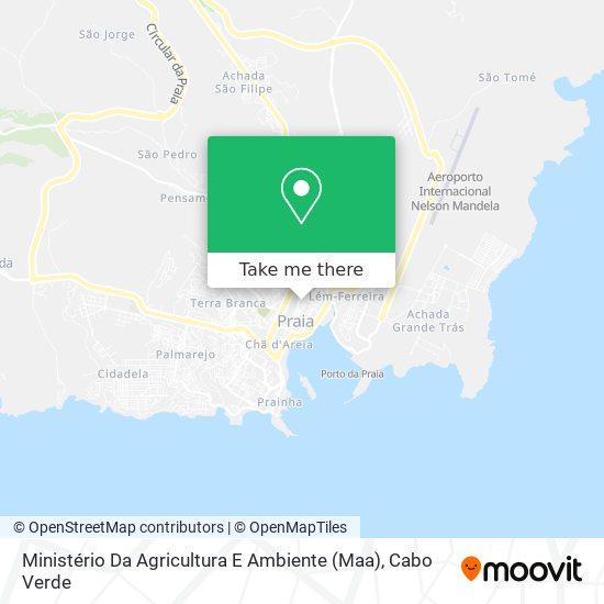 Ministério Da Agricultura E Ambiente (Maa) mapa