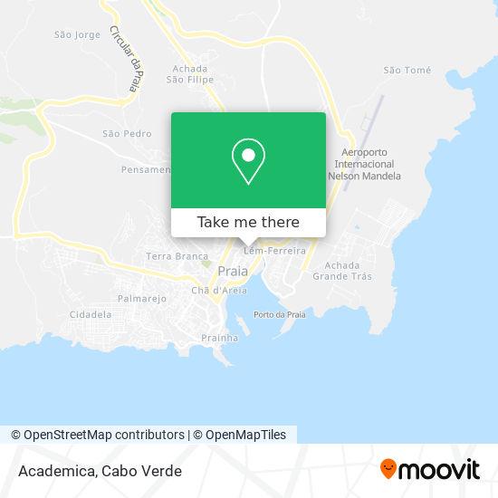 Academica mapa