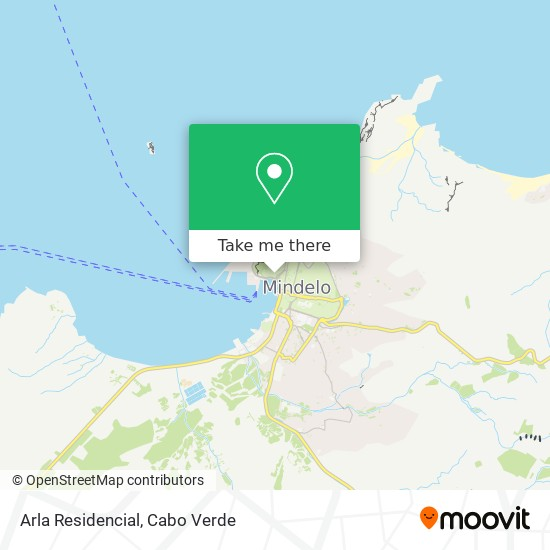 Arla Residencial mapa