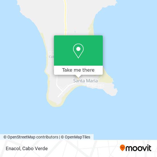 Conacol mapa