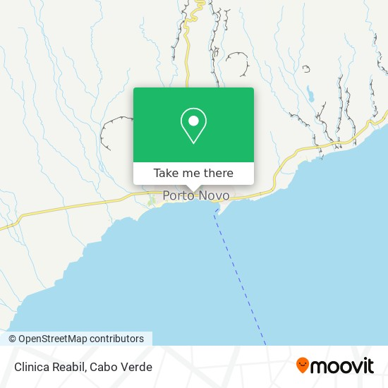 Clinica Reabil mapa