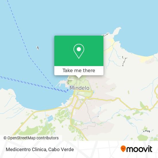 Medicentro  Clinica mapa