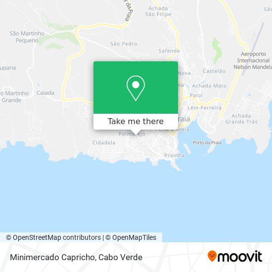 Minimercado Capricho mapa