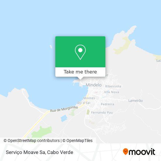 Serviço Moave Sa mapa