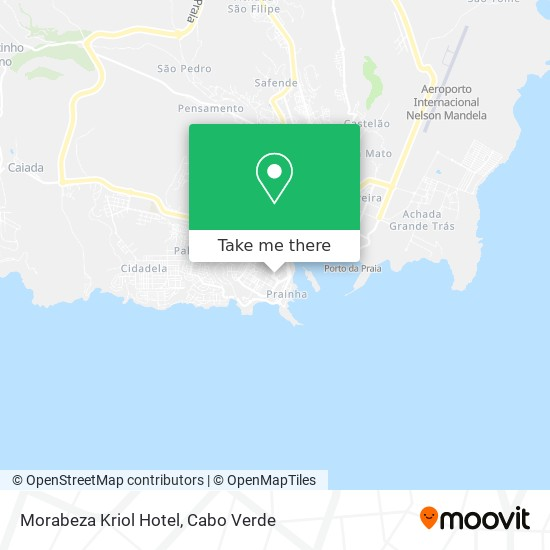 Morabeza Kriol Hotel mapa