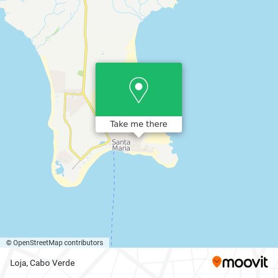 Loja mapa