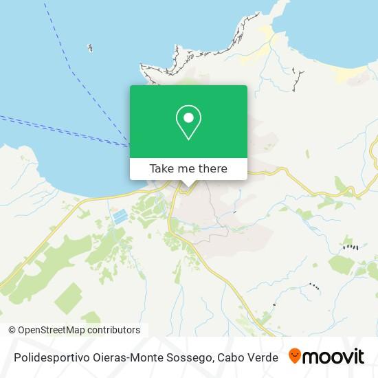 Polidesportivo Oieras-Monte Sossego mapa