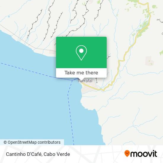 Cantinho D'Café mapa