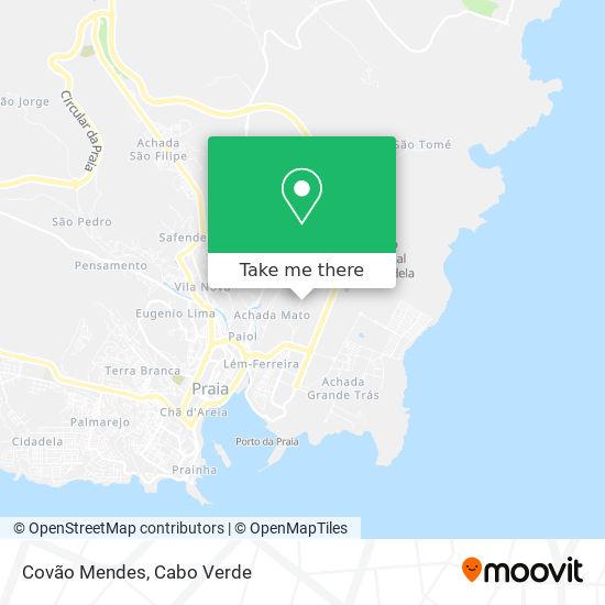 Covão Mendes mapa